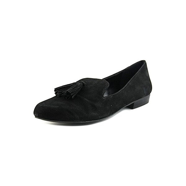 424 Fifth Womens Blake Smoking Loafers Leather Tassel
