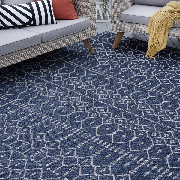 Porch & Den Becket Contemporary Geometric Area Rug. Opens flyout.