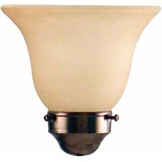 "Volume Lighting GS-536 4.25"" Height Sandstone Glass Bell Shade"