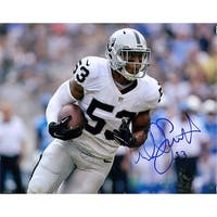 Signed Smith Malcolm Oakland Raiders 8x10 Photo autographed