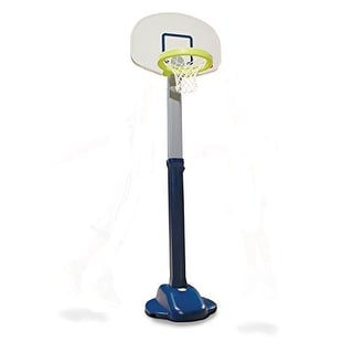 Little Tikes Adjust & Jam Pro BASKETBALL SET, Blue Little Tikes Basketball HOOP