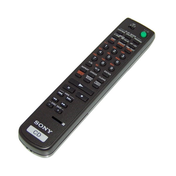 NEW OEM Sony Remote Control Originally Shipped With CDP-CX333ES, CDPCX333ES