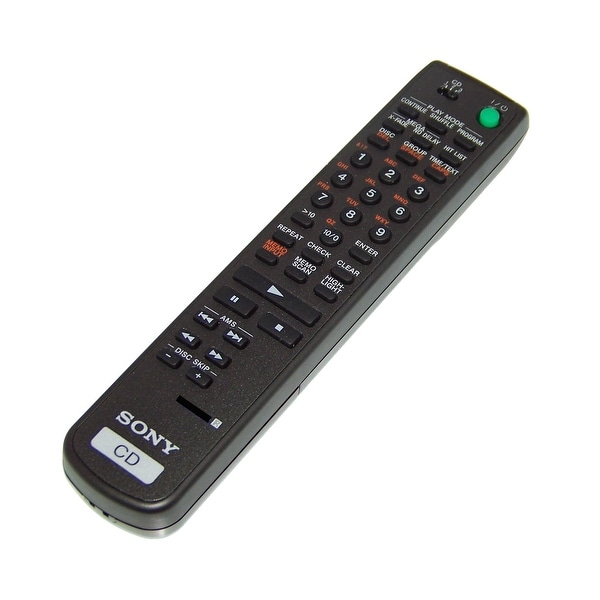 OEM Sony Remote Control Originally Shipped With: CDPCX300, CDP-CX300, CDPCX335, CDP-CX335