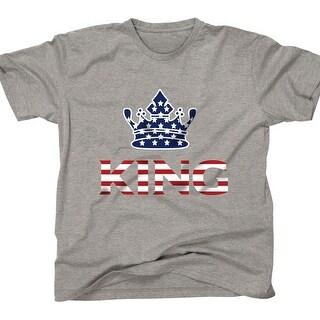 AFONiE US Flag King Kids T-Shirt