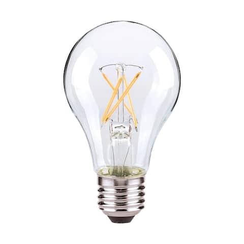 8 Watt A19 LED Clear Finish Medium base 2700K 120 Volt - N/A