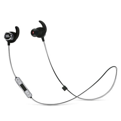 JBL Reflect Mini 2 Wireless Sport Earbuds with Three-Button Remote and Microphone