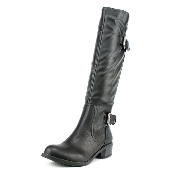 Style & Co Derbey Womens Black Boots