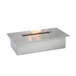 Ignis FPB14 EB1400 Ethanol Fireplace Burner - STAINLESS STEEL