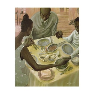 ''Grace'' by John Holyfield African American Art Print (28 x 22 in.)