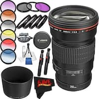 Canon EF 200mm f/2.8L II USM Lens International Version (No Warranty) Professional Accessory Combo