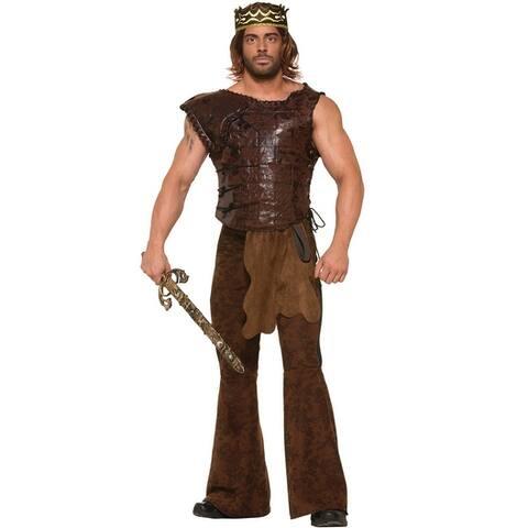 Forum Novelties King's Armor Adult Costume (STD) - Brown
