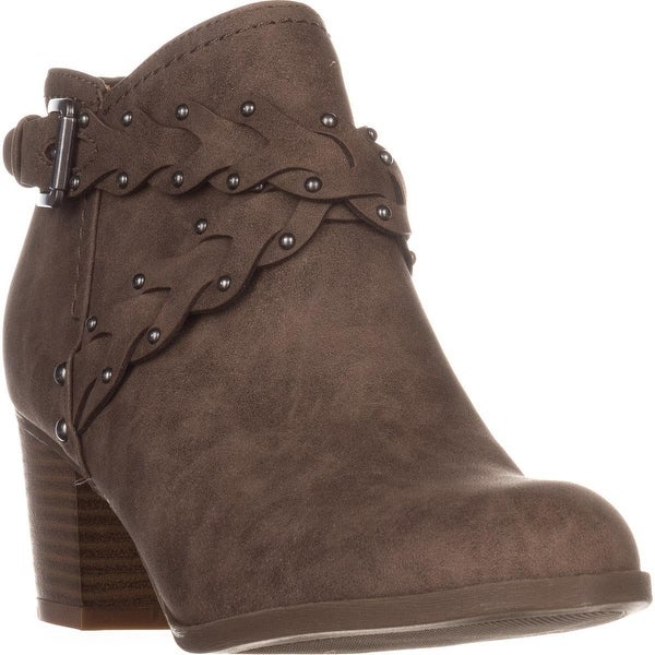 Indigo Rd. Sattie Casual Ankle Boots, Dark Brown