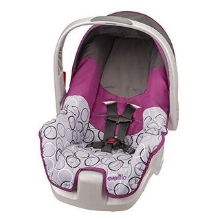 Evenflo Nurture INFANT CAR SEAT, 5 Point Safety Harness BABY CAR SEAT, Ali