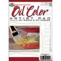 """17 Sheets - Essentials Oil Color Artist Paper Pad 5""""X7"""""""