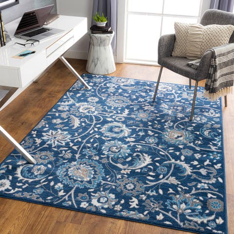 Aerdale Transitional Floral Area Rug