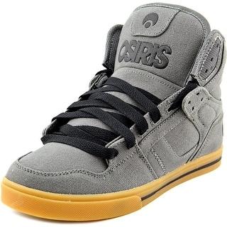 Osiris Clone Men Round Toe Canvas Gray Skate Shoe