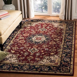 Link to Safavieh Handmade Classic Vernice Traditional Oriental Wool Rug Similar Items in Rugs