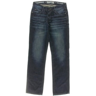 Ring Of Fire Mens Kitts HWY Cotton Baked Creases Slim Jeans - 31/32