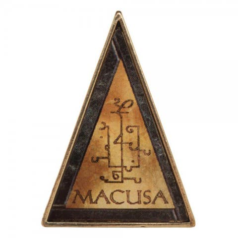 Fantastic Beasts and Where to Find Them M.A.C.U.S.A. Lapel Pin - Brown