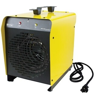 King PSH2440TB 4000W 240V Portable Garage Heater - YELLOW