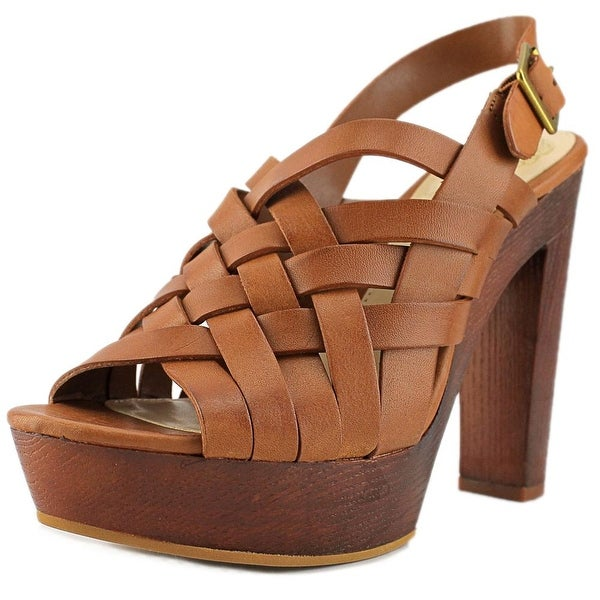 Vince Camuto Elyza Open Toe Leather Platform Sandal