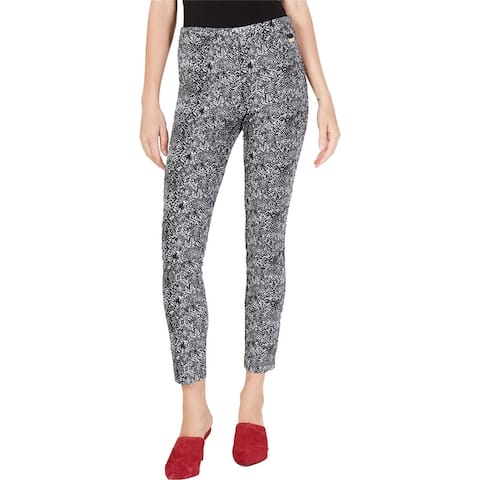 Calvin Klein Womens Snake Print Casual Leggings