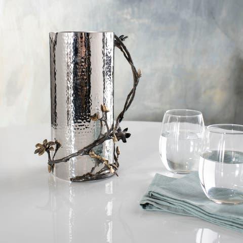 "SAFAVIEH Couture Adney Brass Jug -Black / Gold - 7"" W x 7"" L x 10"" H"