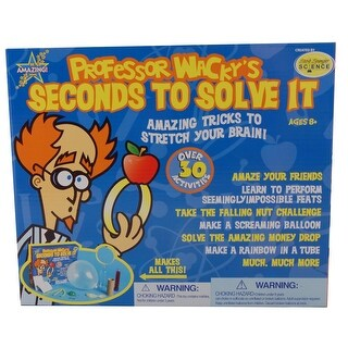 Professor Wacky's Seconds To Solve It Science Kit