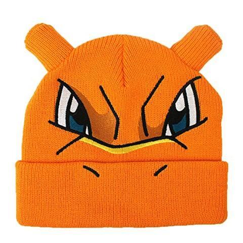 Pokemon Charizard Beanie Cap - Orange
