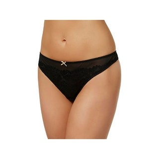 Heidi By Heidi Klum Womens Thong Panty Lace Front French-Cut