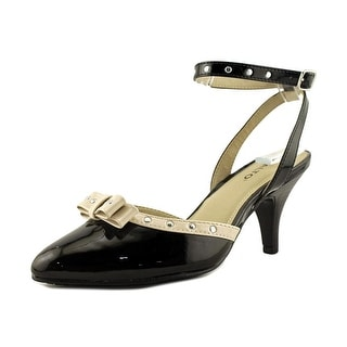 Rialto Maggie Pointed Toe Patent Leather Slingback Heel