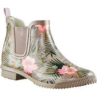 Cougar Women's Regent Waterproof Chelsea Boot Lush Tropics Rubber