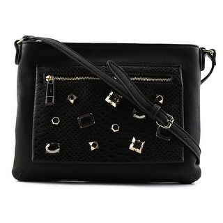 Aldo Macaranduba Women   Leather Black Clutch