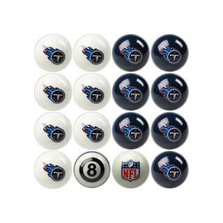 NFL Tennessee Titans Home vs. Away Team Billiard Pool Ball Set