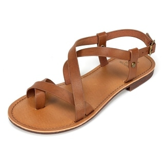 Shop White Mountain Womens Caela Open Toe Casual Slingback Sandals Free Shipping On