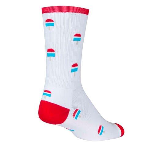 SockGuy SGX 6in Pops Performance Cycling/Running Socks