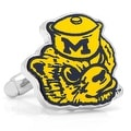 Vintage Michigan Wolverines Cufflinks - Thumbnail 0