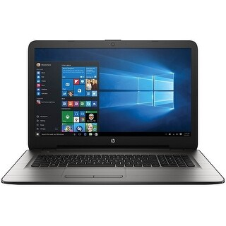 HP W2M98UA 17-X051NR Laptop PC - Intel Core i3-6100U 2.3 GHz (Refurbished)
