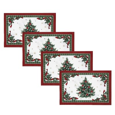 Villeroy & Boch Toy's Delight Reversible Engineered Placemat Set of 4