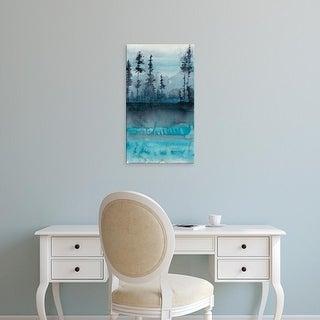 Easy Art Prints Chariklia Zarris's 'Winter Woods II' Premium Canvas Art