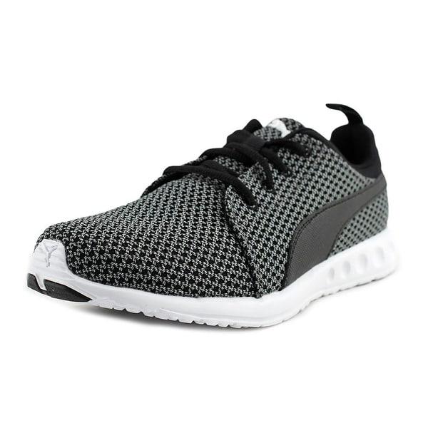 Puma Carson Knitted Men Quiet Shade-Puma Black Sneakers Shoes
