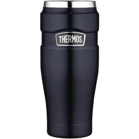 Thermos Stainless King 16-Ounce Travel Tumbler (Midnight Blue)