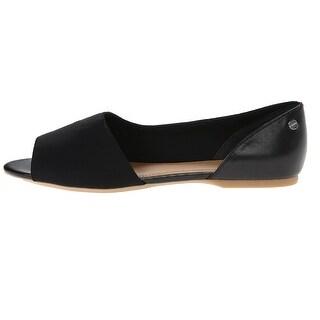 Calvin Klein Womens Rezi Scuba Open Toe Boat Shoes