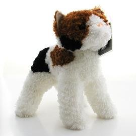 KooKeys Interactive Stuffed Plush Calico Cat