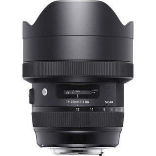 Sigma 12-24mm f/4 DG HSM Art Lens for Nikon - Black