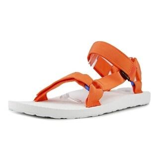Teva Original Universal Sport Men  Open-Toe Canvas Orange Sport Sandal