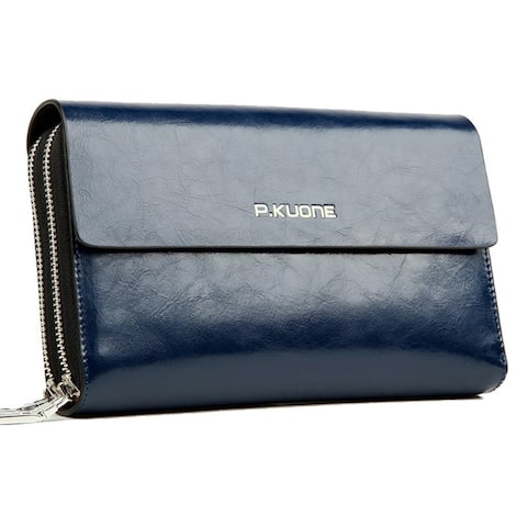 Men's Leather Business Soft Leather Clutch