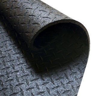 """Body Solid Rubber Equipment Mat 4' X 6', 1/2"""" Thick"""