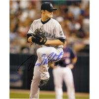 Signed Robertson David New York Yankees 8x10 Photo autographed