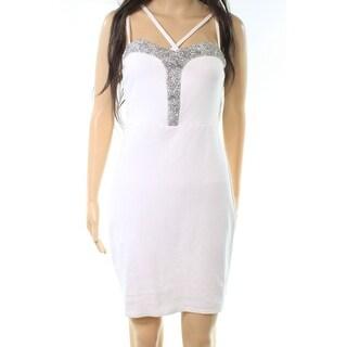 Charlotte Russe Womens Medium Embellished Sheath Dress